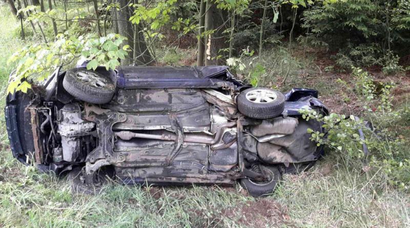 Dopravní nehoda ve Vítanově…