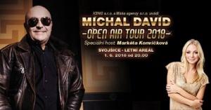 Michal David OPEN AIR TOUR 2018 @ Svojšice | Svojšice | Pardubický kraj | Česko