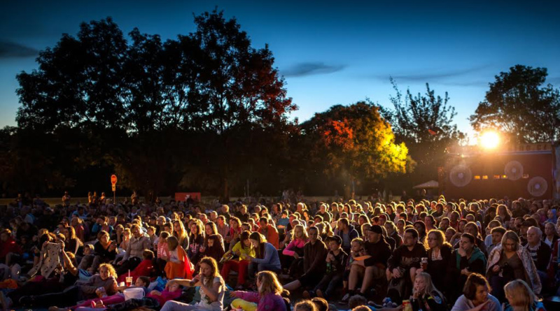 Pardubické letní kino Pernštejn je největším letním kinem v České republice…