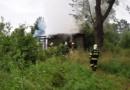 Požár chaty v Pardubicích…