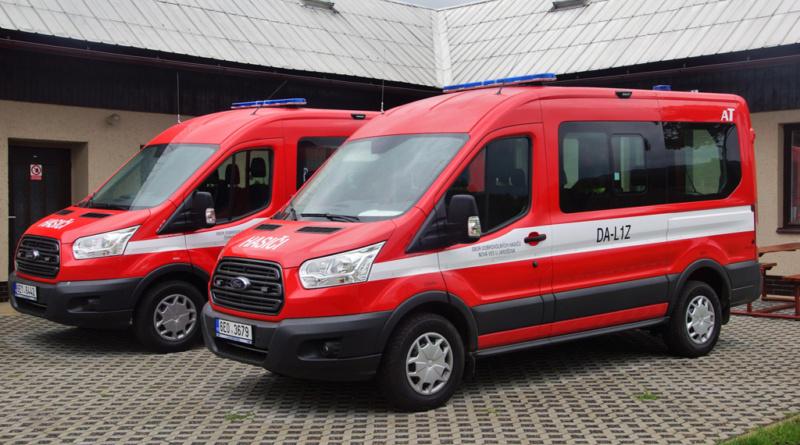 Dobrovolní hasiči získají díky kraji nové dopravní automobily a opraví zbrojnice…