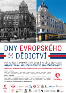 Dny evropského dědictví 2018 @ Pardubice