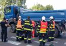 Cyklistka se střetla s nákladním autem…