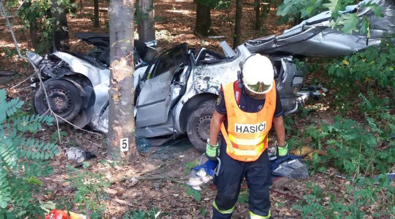 Těžká dopravní nehoda na pardubické rychlodráze…