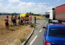 Střet motocyklisty s kamionem skončil tragicky…