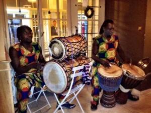 Afro Drum Dance - Papis Nyass (Gambie) @ První republika café-bar | Pardubický kraj | Česko