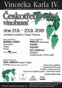 Vinobraní Česká Třebová 2018 @ Staré náměstí Česká Třebová | Česká Třebová | Pardubický kraj | Česko