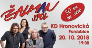 Žalman & SPOL - 50 let na scéně @ KD Hronovická   Pardubický kraj   Česko
