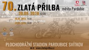 70. Zlatá Přilba města Pardubic @ Speedway Stadion Pardubice | Pardubický kraj | Česko