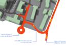 Čtyřicet procent z výnosu areálu Tesly půjde na dopravní napojení nemocnice a parkování…