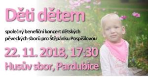 Děti dětem @ Husův sbor Pardubice, Jiráskova | Pardubický kraj | Česko
