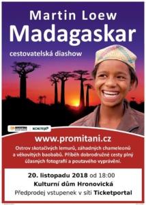 Madagaskar - cestovatelská diashow Martina Loewa @ Kulturní dům Hronovická | Pardubický kraj | Česko