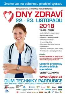 Dny zdraví 2018 @ Dům techniky Pardubice | Pardubický kraj | Česko