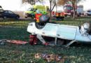 Zraněnou řidičku transportoval vrtulník do nemocnice…