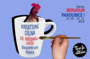 Kreativní DÍLNA @ Ekocentrum PALETA | Pardubice | Česko