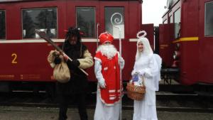 Mikulášský vlak do Choltic @ Pardubický spolek historie železniční dopravy | Česko
