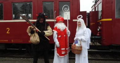Mikulášský vlak do Choltic…