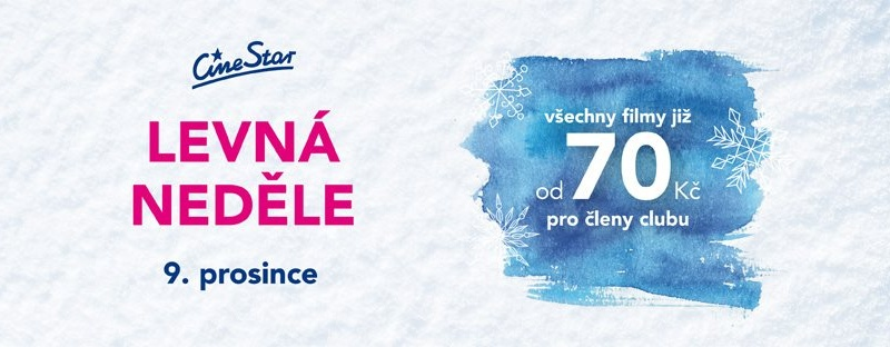 d6ce19708 Levná neděle v kině CineStar - Pardubice ŽIVĚ