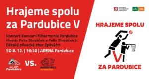 Hrajeme spolu za Pardubice V @ Arena Pardubice | Pardubický kraj | Česko