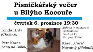 Písničkářský večer u Kocouře @ Bílej Kocouř | Pardubický kraj | Česko
