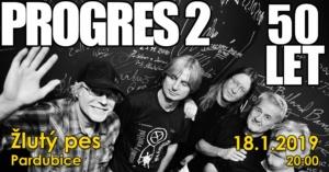 Progres 2 - TOUR 50 let na scéně! @ Žlutý pes club | Pardubický kraj | Česko