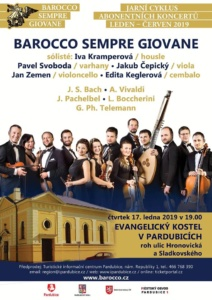 Abonentní koncert Barocco sempre giovane @ Evangelický kostel Hronovická ulice | Pardubický kraj | Česko