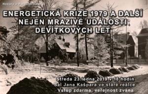 Energetická krize 1979 a další události devítkových let @ Sál Jana Kašpara ve staré reálce v Pardubicích | Pardubický kraj | Česko