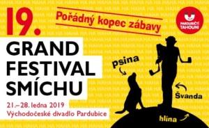 GRAND Festival smíchu - 19. ročník @ Východočeské divadlo Pardubice | Pardubický kraj | Česko