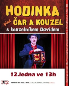 Kouzelnické představení Davida Kopeckého @ Pardubický klub kouzel a magie | Pardubice | Česko