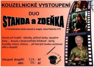 Kouzelnické vystoupení - duo Standa a Zdeňka @ Pardubický klub kouzel a magie | Pardubice | Česko