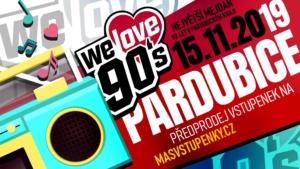 We Love 90's - Pardubice – mejdan hitů devadesátých let @ IDEON Pardubice | Pardubický kraj | Česko