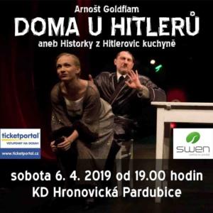 Doma u Hitlerů aneb Historky z Hitlerovic kuchyně @ KD Hronovická | Pardubický kraj | Česko