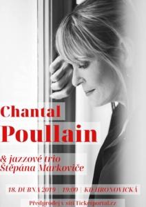 Chantal Poullain & jazzové trio Štěpána Markoviče @ Kulturní dům Hronovická | Pardubický kraj | Česko