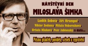 Návštěvní den u Miloslava Šimka @ Kulturní dům Hronovická | Pardubický kraj | Česko