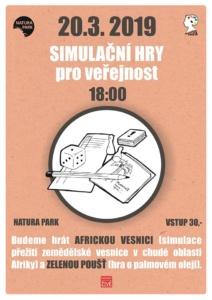 Simulační hry pro veřejnost @ Ekocentrum Paleta | Pardubice | Česko