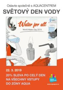 Světový den vody s 20% slevou do zóny AQUA @ Aquacentrum Pardubice | Pardubický kraj | Česko