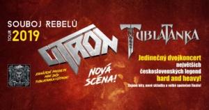 Tublatanka & Citron - Souboj Rebelů 2019 - Pardubice @ IDEON Pardubice | Pardubický kraj | Česko