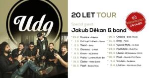UDG - 20 let tour / Pardubice + Jakub Děkan & band @ Zluty pes Pardubice | Pardubický kraj | Česko