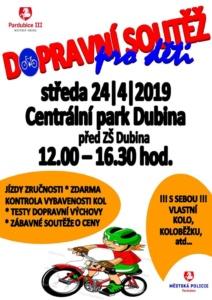 Dopravní Soutěž pro děti @ ZS Dubina Pardubice | Pardubický kraj | Česko