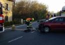 Ranní dopravní nehoda v Sezemicích…
