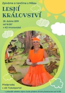Písničky z Lesního království @ KD Hronovická | Pardubický kraj | Česko