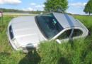 Opilá řidička poslala auto do příkopu…