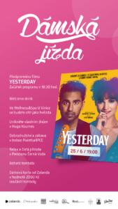 Dámská jízda s filmem YESTERDAY @ Cinestar Pardubice | Pardubický kraj | Česko