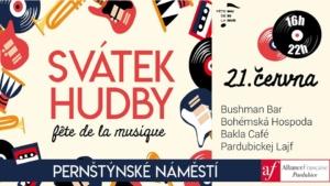 Svátek hudby Pardubice 2019 – Fête de la musique @ Pernštýnské náměstí, Pardubice | Pardubický kraj | Česko