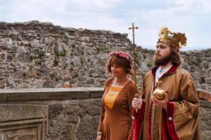 Král na hradě Kunětická hora @ Hrad Kunětická hora | Staré Hradiště | Pardubický kraj | Česko