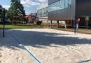 Nové hřiště na plážový volejbal v Aquacentru…