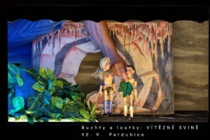 Buchty a loutky ※ Vítězné svině @ Divadlo 29 | Pardubický kraj | Česko