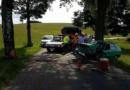 Dopravní nehoda v Břitově a narušení přípojky plynu v Žamberku…