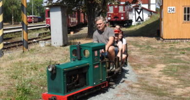 Setkání zahradních železnic v Rosicích…