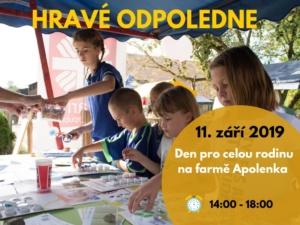 Hravé odpoledne na farmě Apolenka @ Apolenka z.s.   Spojil   Pardubický kraj   Česko